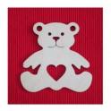 Forme en bois ours