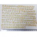 Mini Silhouettes Chipboard